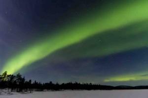 Aurora boreale a Rovaniemi