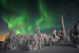 Aurora boreale con Agamatour