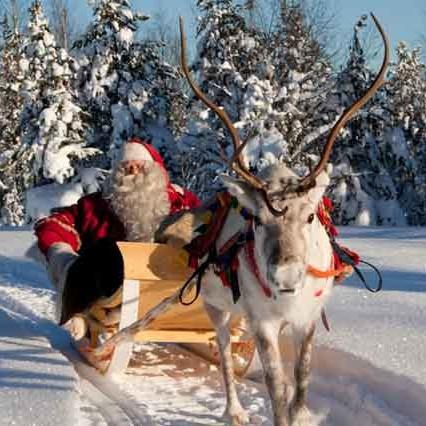 Lapponia E La Casa Di Babbo Natale.Immacolata A Rovaniemi Ponte Sant Ambrogio