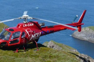 Norvegia in elicottero