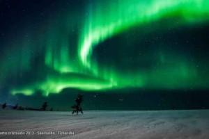 Viaggio per vedere l'aurora boreale