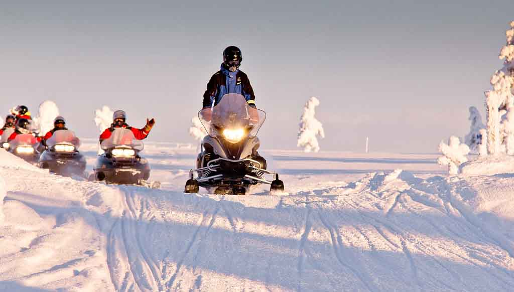 snowmobiles-rovaniemi