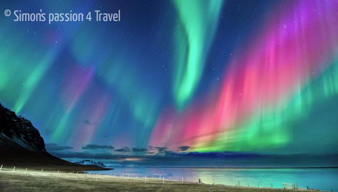 L 39 aurora boreale in islanda inverno in islanda for Sfondi aurora boreale